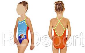 Купальник детский KIDS AR-23171-33 MADEUP (возраст 2-3, 4-5 лет, красный-синий)