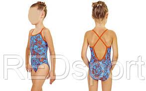 Купальник детский KIDS AR-23719-83 MEVERET (возраст 4-5 лет, оранжево-синий)
