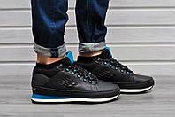 Мужские зимние кроссовки New Balance 754 Fur & Leather 5 цвета голубой