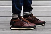 Мужские зимние кроссовки New Balance 754 Fur & Leather 5 цвета коричневый