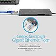 USB 3.1 Type-C ХАБ Corehub-C Grey, фото 5