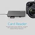 USB 3.1 Type-C ХАБ Corehub-C Grey, фото 6