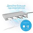 USB Type-C ХАБ Minihub-C4 Silver, фото 5