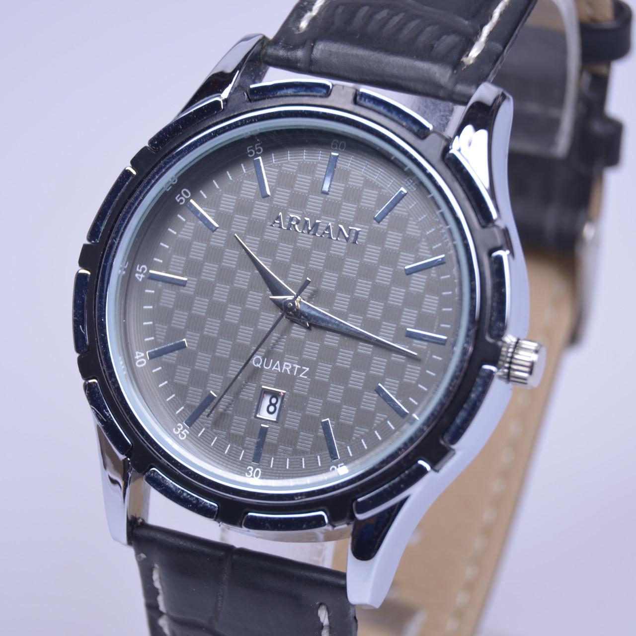 Мужские наручные часы Armani Silver календарь