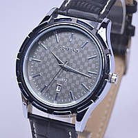 Мужские наручные часы Armani Silver календарь , фото 1