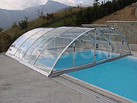 Павильон для бассейна Klasik Clear Elox Silver, B