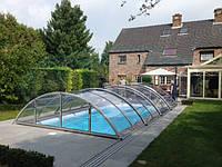 Павильон для бассейна Klasik Clear Elox Silver, C