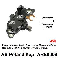 Реле зарядки  ARE0008 (AS-PL) Audi, Ford, Iveco, Mercedes-Benz, Renault, Skoda, VW, Volvo регулятор генератора