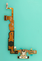 Шлейф (Flat cable) с коннектором зарядки, микрофона и кнопкой Home для LG Optimus L7 II P710