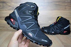 Зимние мужские ботинки Salomon M&S Contagrip, внутри — натуральный мех