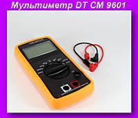 Мультиметр DT CM 9601,Цифровой измеритель ёмкости, мультиметр