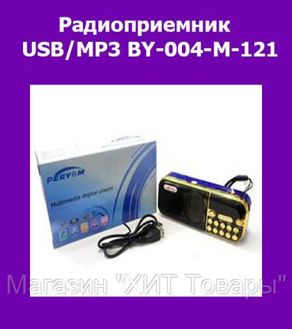 Радиоприемник USB/MP3 BY-004-M-121!Опт, фото 2