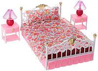 Кровать для Барби. Gloria Спальня принцессы. Игрушка