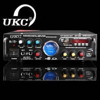 Усилитель Звука ! UKC AV-339A +USB +караоке и встроенный Bluetooth
