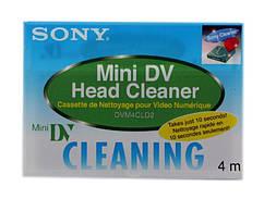 Чистящая видеокассета Sony Mini DV
