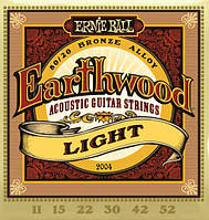 Струны Ernie Ball 2004 Earthwood 80/20 Light
