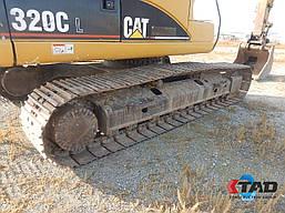Гусеничный экскаватор Caterpillar 320C L+Long Reach (2006 г), фото 2