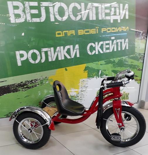 """Велосипед 3-х колісний SCHWINN 12"""" Roadster Trike червоний SKD-12-64"""