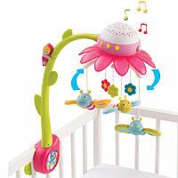Музыкальный мобиль на кроватку цветочек Cotoons Smoby 110110R