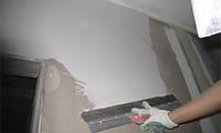 Шпаклевание стен, под обои - 40грн, под покраску - 50грн