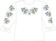 СВДП-10. Заготовка для вишивки бісером Дитяча блузочка домоткана