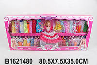 Кукла типа Барби с набором одежды
