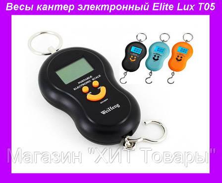 Весы кантер электронный Elite Lux T05,Весы электронные бытовые кантерные точные, кантер электронный Smile, фото 2