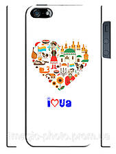 Чехол I love UA для iPhone 5/5s