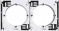 Коробка для наружного монтажа  Schneider Electric ASFORA наборная белый EPH6100221