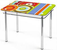 Стол стеклянный Kvito-Maya (Comfy Home TM)