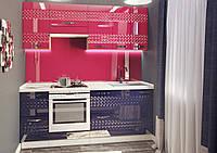"""Кухня """"Juice"""" 2,0м Альфа супер-глянец 3D"""