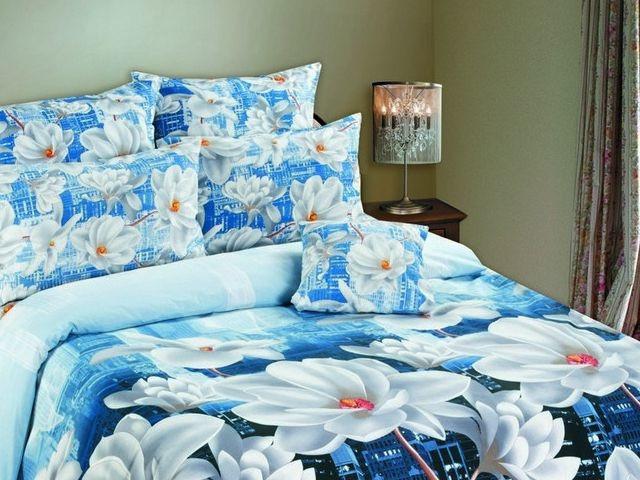 Двуспальное постельное белье оптом