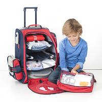 Выбор чемодана на колесах для маленького путешественника.