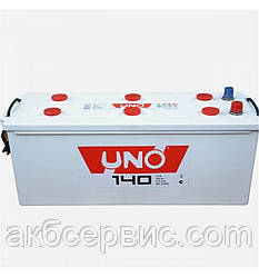 Акумулятор автомобільний Uno 6СТ-140 Аз