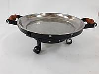 """Таганок """"Халиф""""для подачи шашлыка или стейка  300мм"""