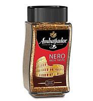 Кофе растворимый Ambassador Nero 190 г стеклянная банка