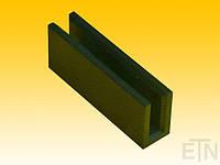 Вкладыш 7 РЕ, U-образный профиль для рельса 7 мм, 77 x 18 x 30,5 мм, запчасти ThyssenKrupp