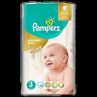 Подгузники детские PAMPERS PremIUM Care Midi 3 (4-9 кг) 60шт