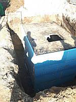 Бетонный водонепроницаемый погреб-кессон