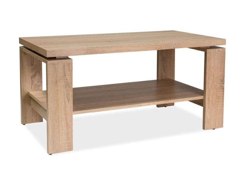 Деревянный журнальный столик Paola