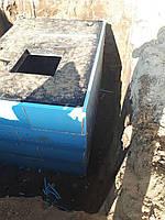 Кессон-погреб из гидротехнического водонепроницаемого бетона