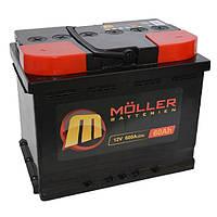 Аккумулятор Moller Starter 60 Ач 600 А Снг N40701647