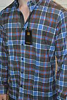 Кашемировая приталенная рубашка RIEPPA (размеры M.L.XL.XXL)