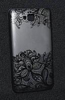 Чехол силиконовый Huawei Y6 Pro/TINAN-UO2,Tatoo (Хуавей у6 Про,Чехол-накладка,бампер,Кейс,защита для телефона)