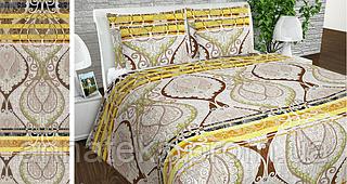 Ткань постельная 142132 Бязь (ПАК) НАБ.ГОЛД NR рис.1121 КОРИЧНЕВЫЙ 220СМ