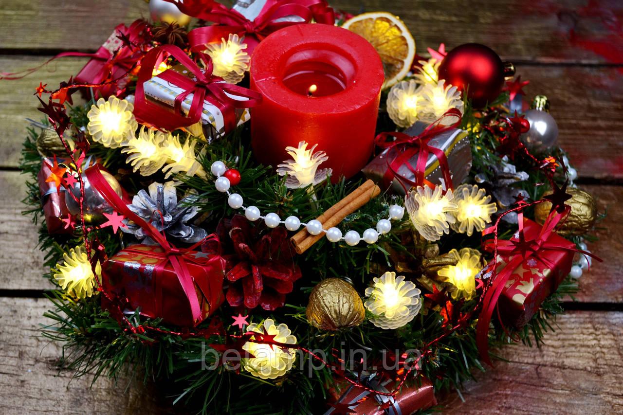 рождественский венок купить украина