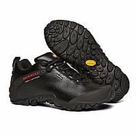 Мужские зимние кожаные ботинки MERRELL разм. 41-45