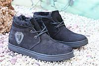 Стильные мужские ботинки Falcon натур нубук, фото 1