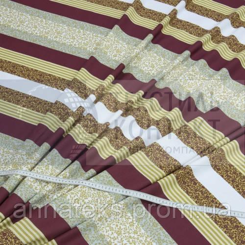 Ткань постельная Бязь (ТИР) НАБ. арт 136587 рис 17069/01  100% Х/Б ПЛ.120 220СМ