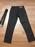 Детска одежда оптом Джинсы черные школьные для мальчиков оптом 8-12 лет, фото 1